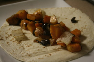 Butternut Squash & Black Bean Enchilada Recipe