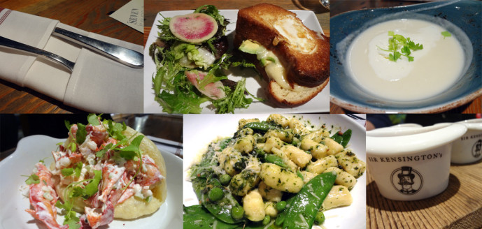 Seven Lamps lobster roll, gnocchi, grilled cheese, and more