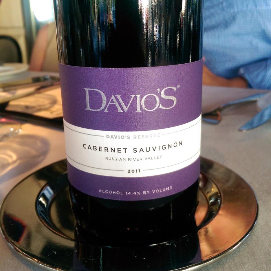 Davio's Northern Italian Steakhouse Cabernet Sauvignon