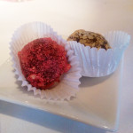 Raspberry & Almond Truffle