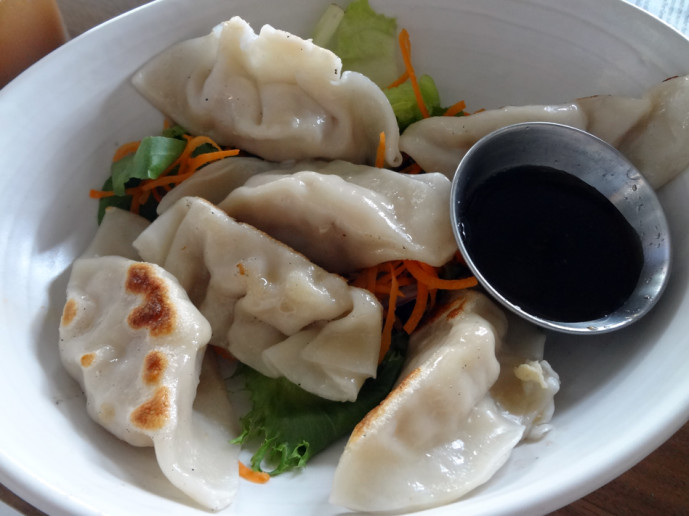 Small Bing plate: dumplings