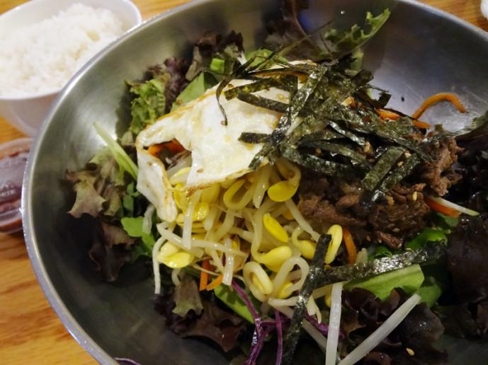 Bulgogi bibimbap (비빔밥)