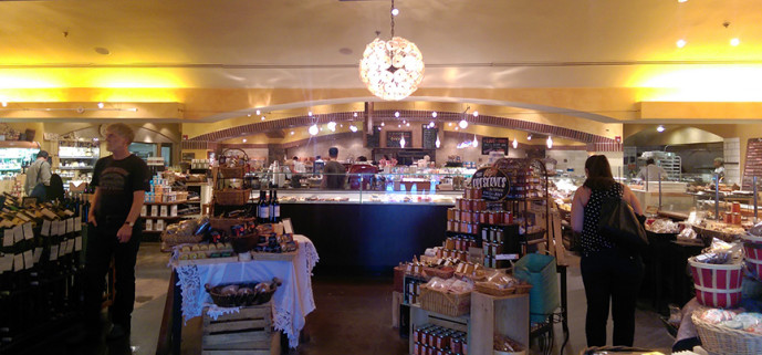 Alon's Bakery and Market - interior