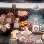 Cheese assortment at Alon's Bakery