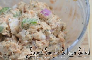 Super Simple Salmon Salad Recipe