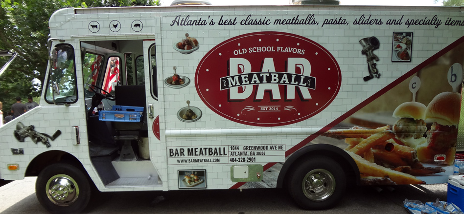 Bar meatball food truck spatialdrift for Bar 96 food truck