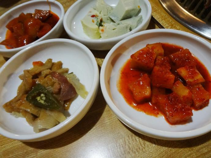 Cho Sun Ok's banchan