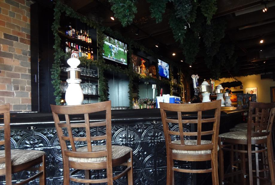 Der Beirgarten bar in dining area