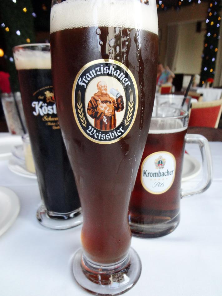 Beers at Der Beirgarten