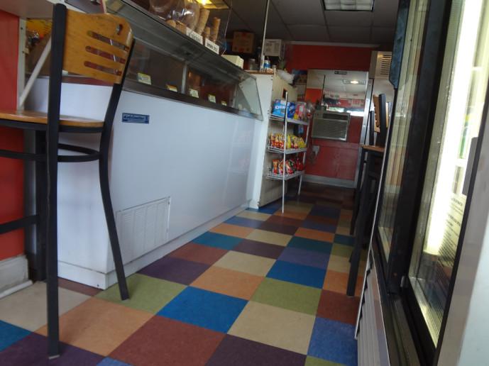 Bellaggio Ice Cream Interior