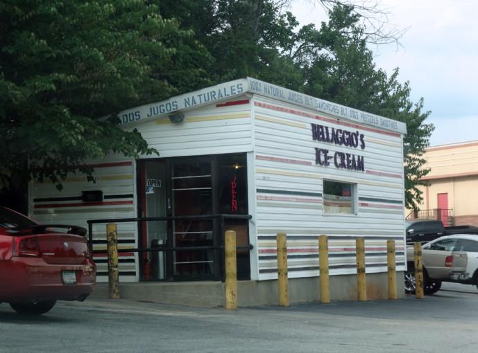 Bellaggio Ice Cream Shack on Buford Highway