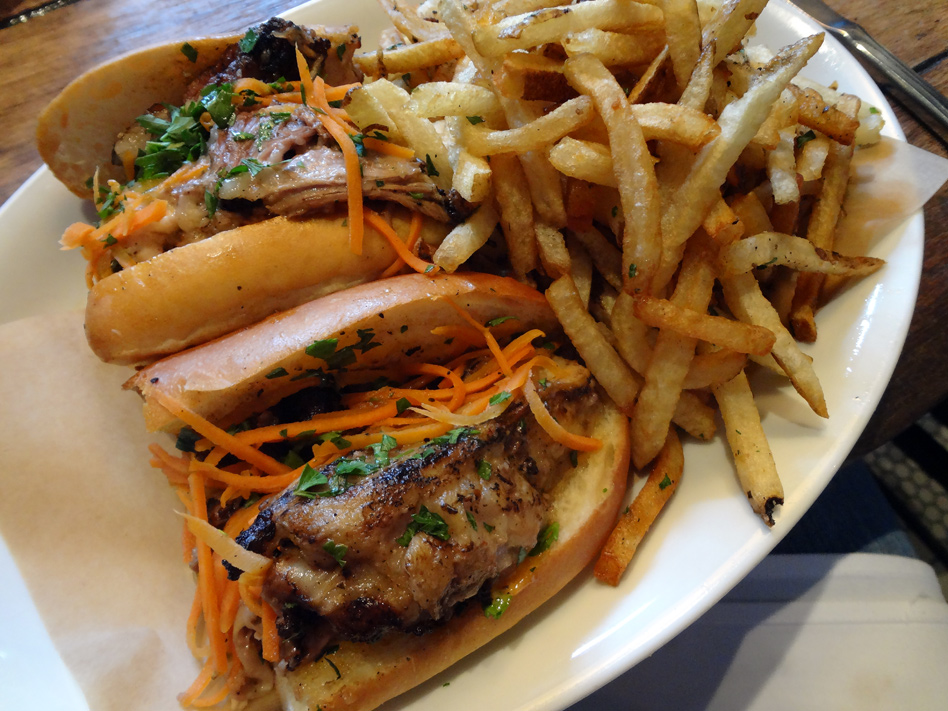 The Lamb Banh Mi from JCT Kitchen