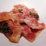 Tortelli di Michelangelo - A recipe from his letters: veal, chicken, pork ravioli, butter/sage sauce