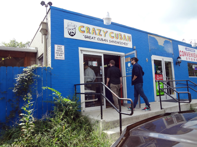 Crazy Cuban midtown sandwich shop