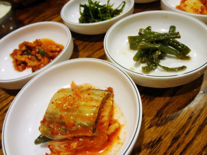 Woo Nam Jeong Stone Bowl House banchan