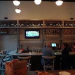 Ribalta pizza bar area