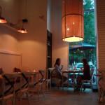 Ribalta pizza dining area