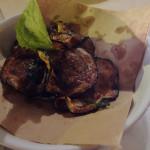 Fried zucchini from Ribalta