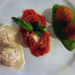 Meatball trio from Ribalta