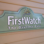 First Watch Sign
