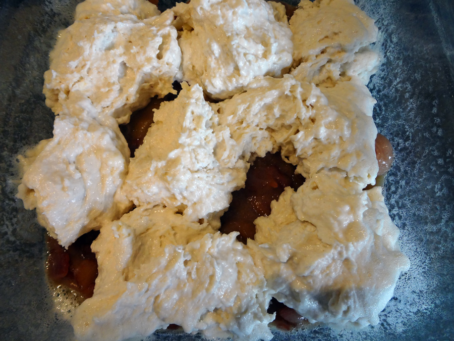 Bacon biscuit bake ready for the oven