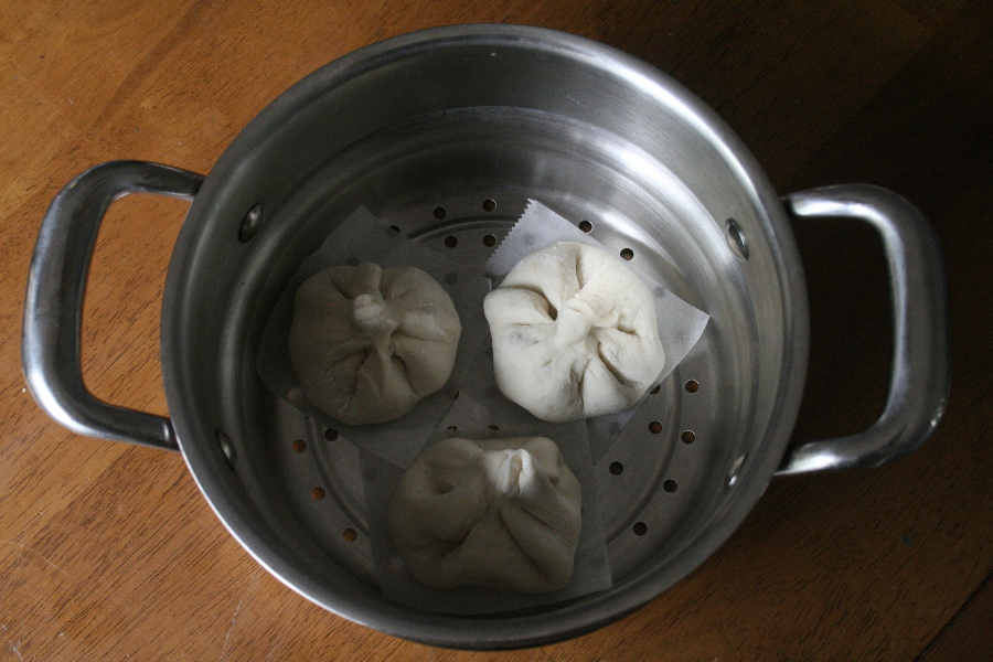 Steamed Dumplings Placement