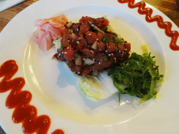 Hawaiian Poke Tuna from SOHO Vinings