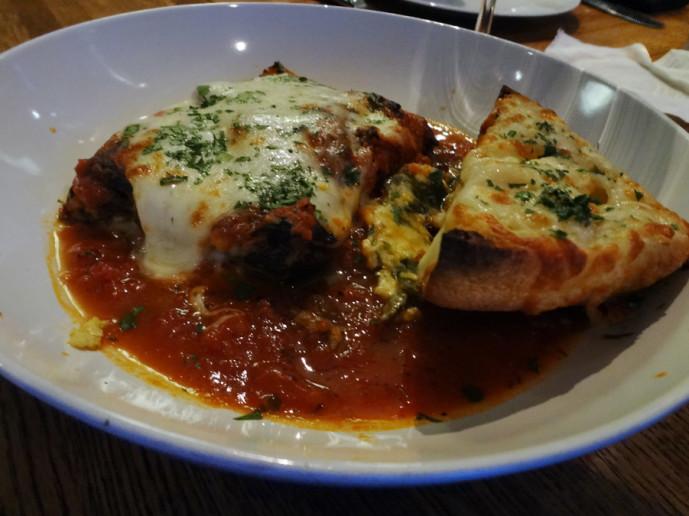 SOHO grilled eggplant lasagna