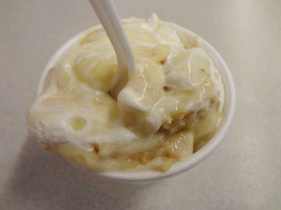 Chicken Comer original banana pudding
