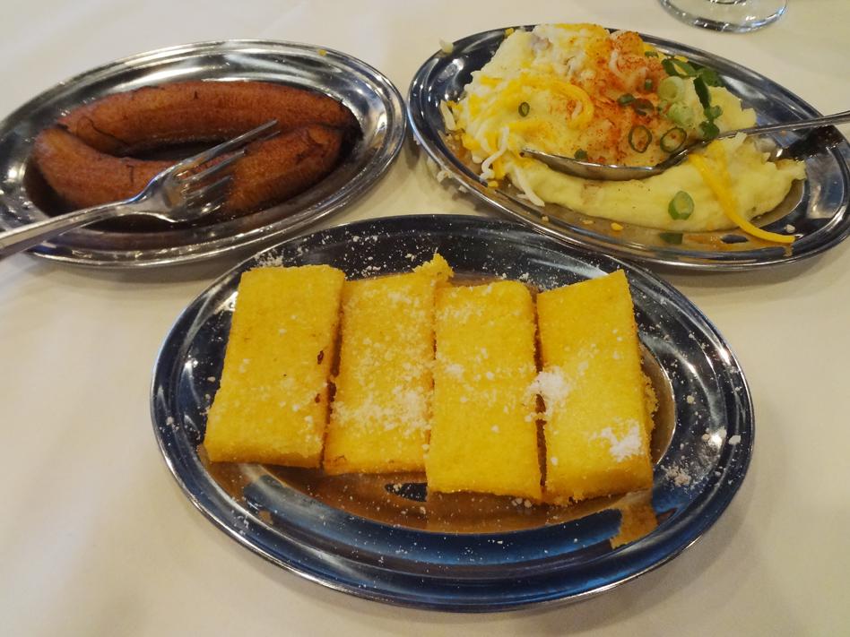 Chama Gaucha side dishes