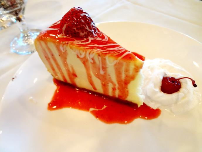 Chama Gaucha cheesecake