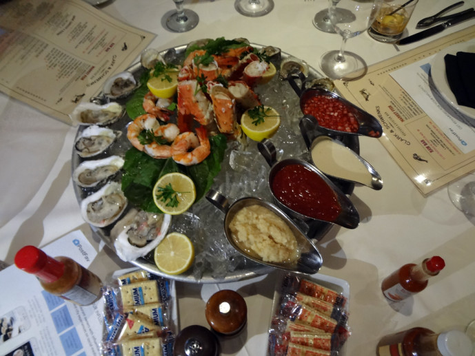 C&S Seafood seafood tower