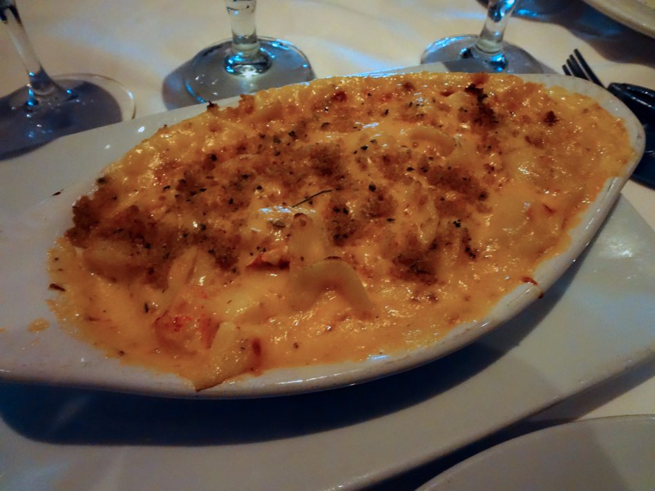 C&S lobster mac and cheese