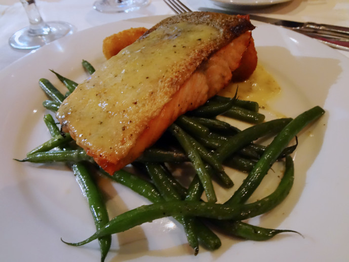 Pan-roasted steelhead trout