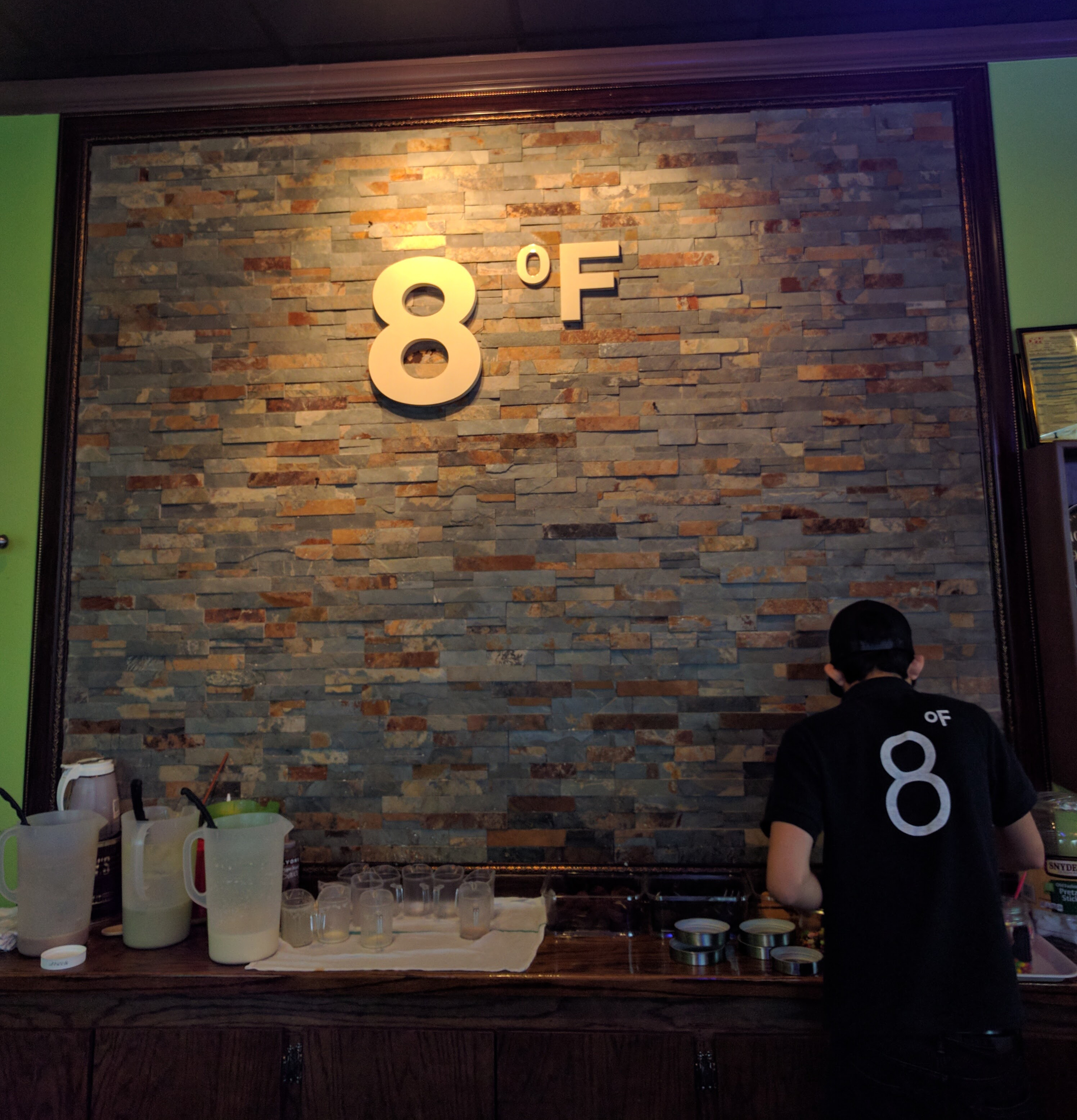 8° Fahrenheit Ice Cream interior