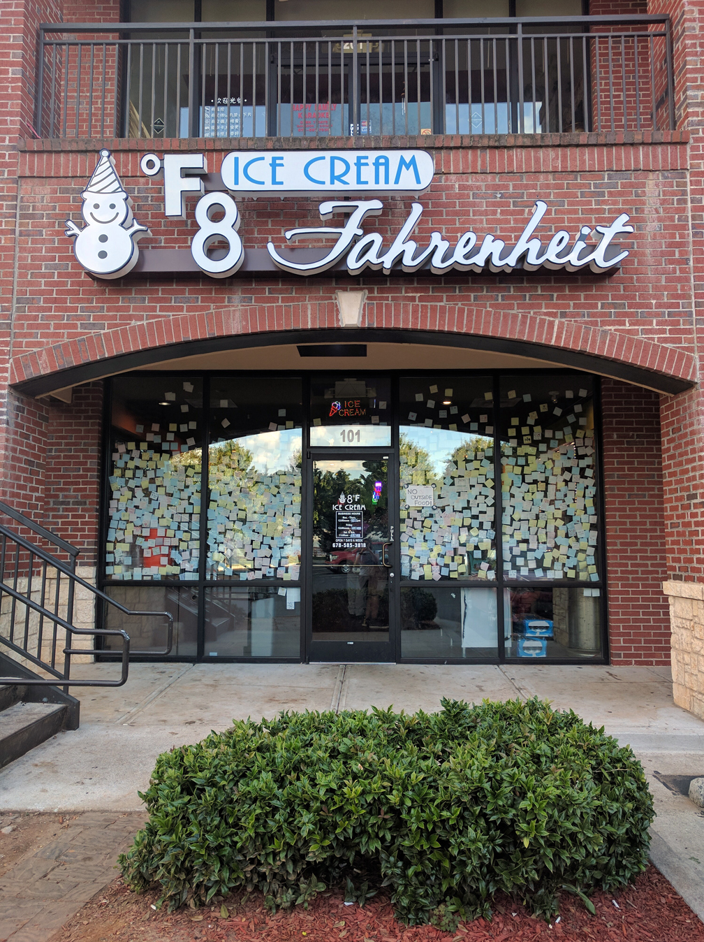 8° Fahrenheit Ice Cream exterior