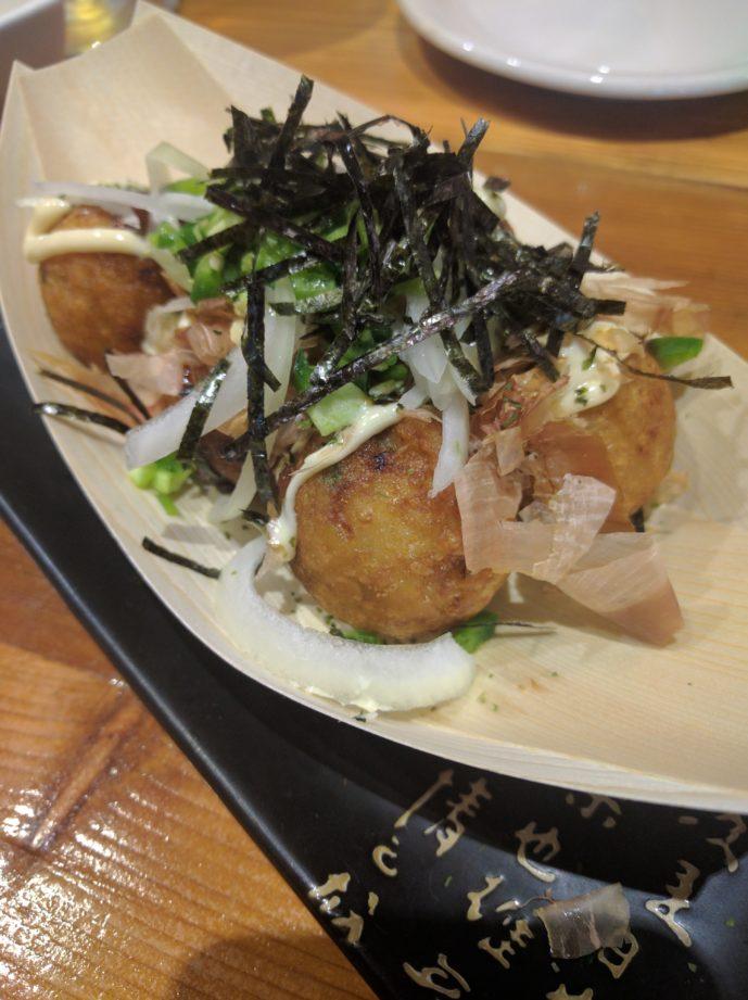 Jalapeno takoyaki
