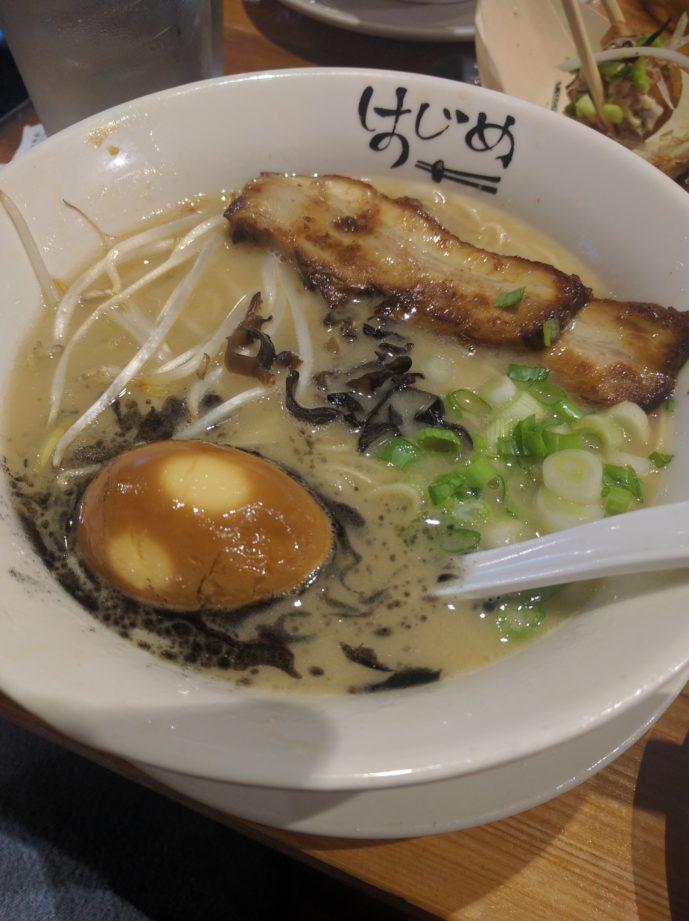 Hajime Tonkatsu with rich broth upsell