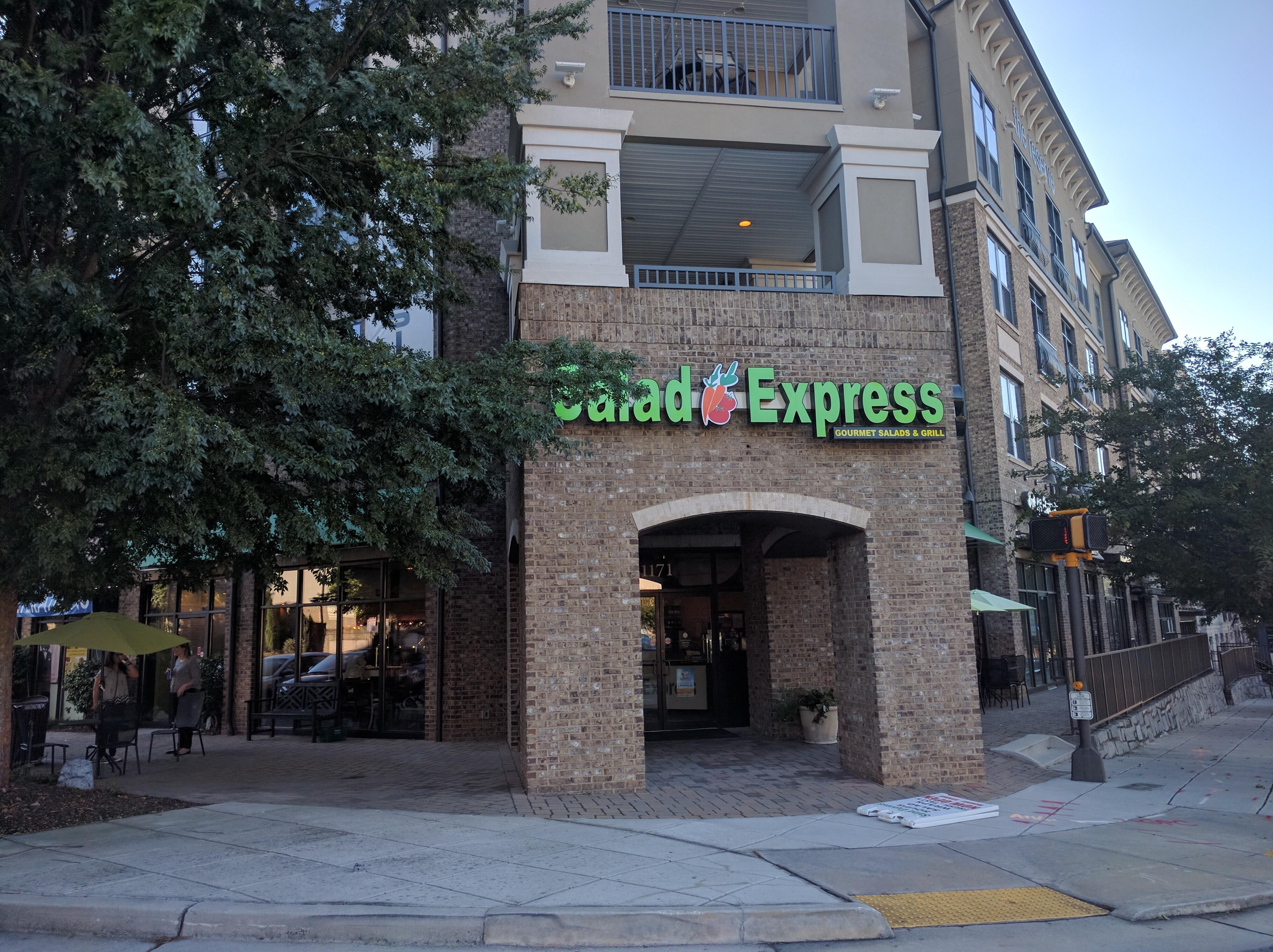 Salad Express exterior